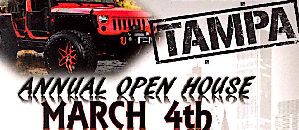 OPEN HOUSE MARCH 4th
