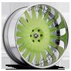 Merano Green with Chrome Lip