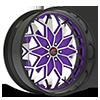 Motivo Purple and Machined with Black Lip