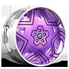 Castillo Purple and Chrome