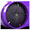 HNIC Cali 5 Black and Purple