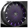 HNIC Miami 15 Black and Purple with Carbon Lip