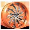 Trifecta Silver and Orange