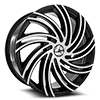 AZA-514 Gloss Black Machined