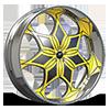 Avida Yellow and Chrome with Chrome Lip