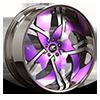 Solo Purple and Chrome