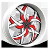 LP-5 White w/ Red Stripe