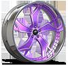 Stilletto-P Chrome w/ purple accents