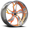 Stilletto-P Chrome w/ Orange