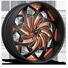 Turbo Black and Orange