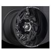 XF-203 Black Milled Window - 20x14