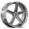 Delano Concave Silver & Machined (L)