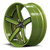 Delano Concave Green and Black