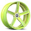 Delano Concave Green