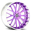 Mondo Mesh Concave Purple and Chrome