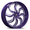 Monaco Slide Purple